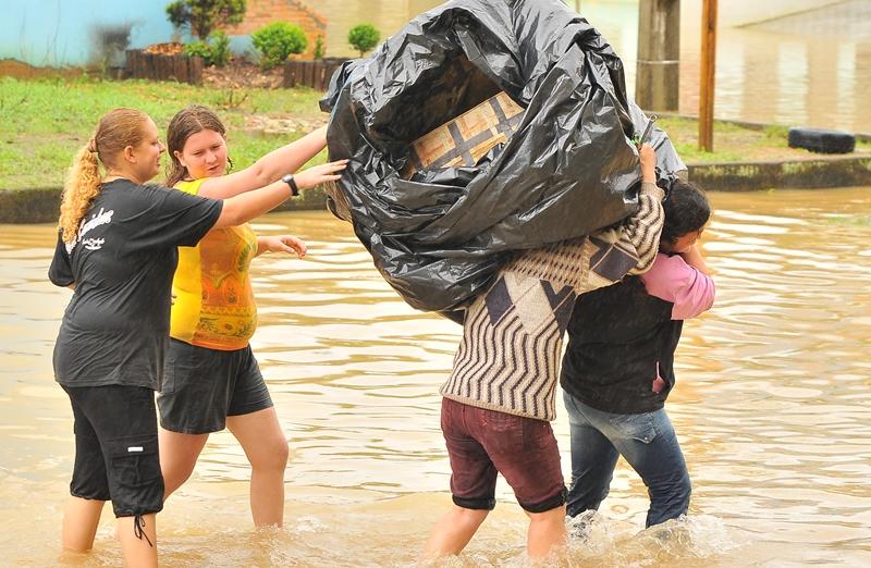 Situação de calamidade emocionou a chefe de jornalismo da Rede OCP News | Foto Arquivo OCP News