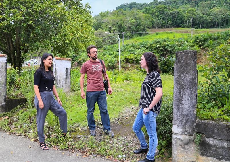 Patricia Moraes, Piero Ragazzi e Daiane Zanghelini são alguns integrantes da imprensa que cobriram a tragédia | Foto Eduardo Montecino/OCP News