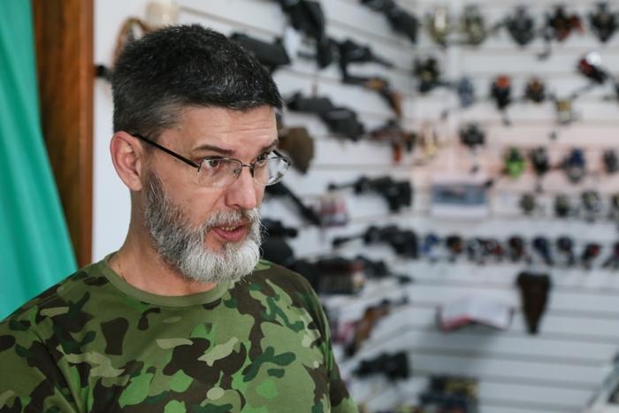 Otacil de Araújo garante que a procura por armas já demonstra aumento | Foto Eduardo Montecino/OCP News