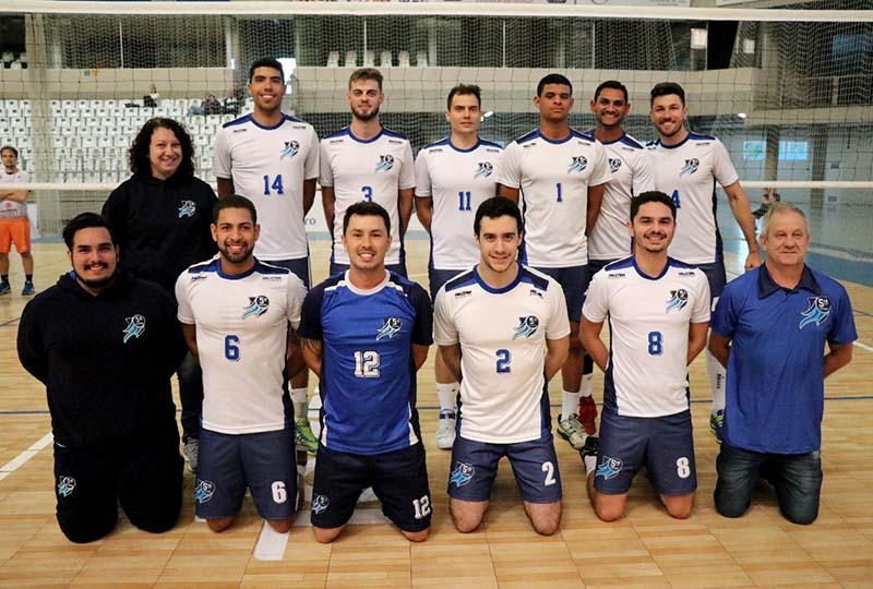Jaraguaenses do 5ª Squadra foram campeões no masculino I Foto: Divulgação/Secel