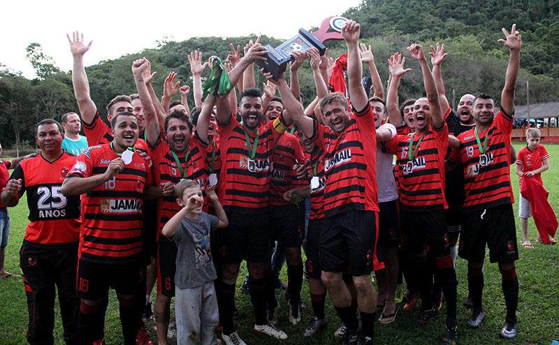 Rubro-negro é o segundo time de Jaraguá do Sul a conquistar o título da competição I Foto: Lucas Pavin/Agência Avante!