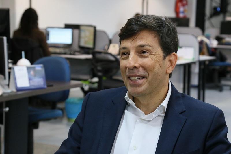 Presidenciável João Amoêdo, do Partido Novo. | Foto Eduardo Montecino/OCP News