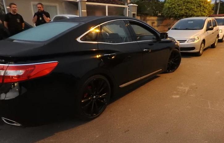 Carro apreendido   Foto Polícia Civil/Divulgação