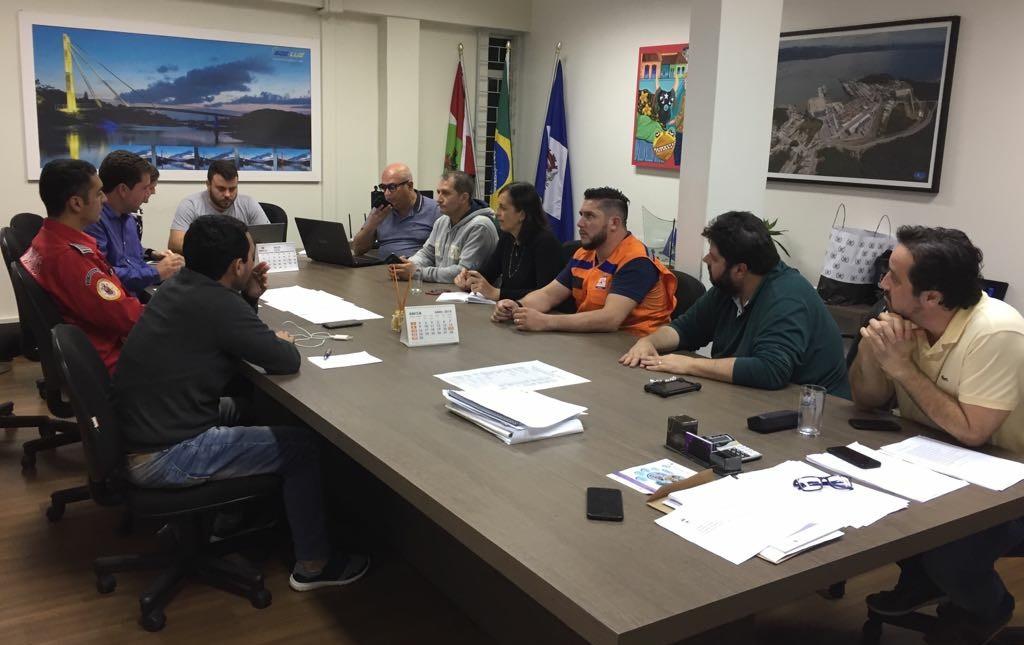 Comitê de gestão de crise foi implantado na tarde (26) pelo prefeito Renato Gama Lobo | Foto Divulgação