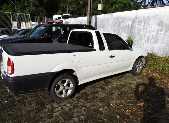 Carro apreendido | Foto Polícia Civil/Divulgação