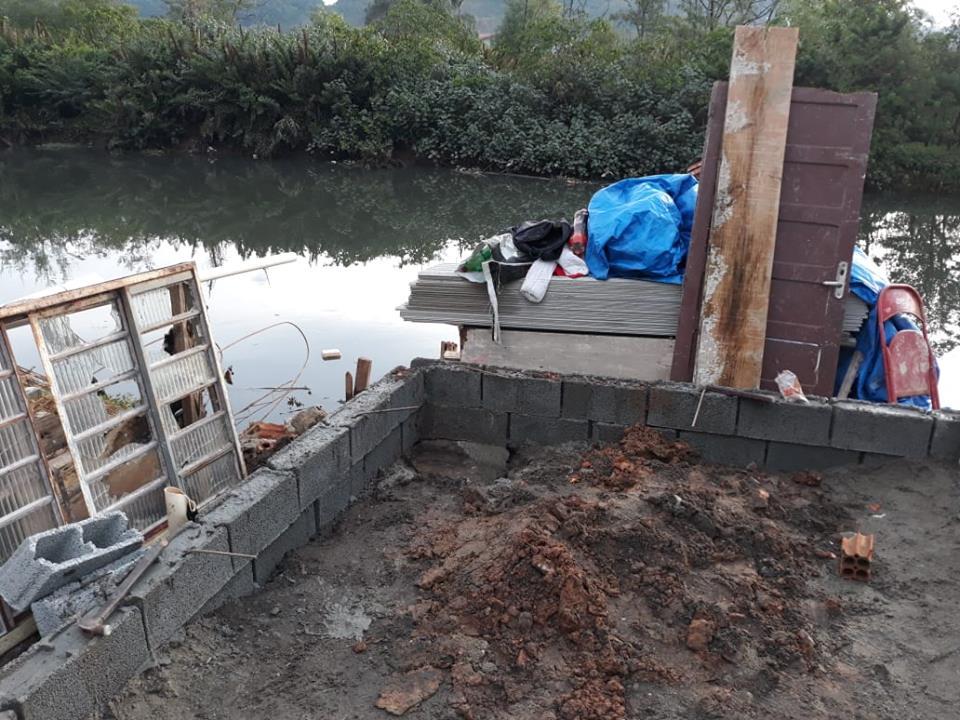 Objetivo é evitar ocupações, aterros e depósito de lixo, em áreas de preservação permanente e áreas de mangue   Foto Polícia Civil/Divulgação