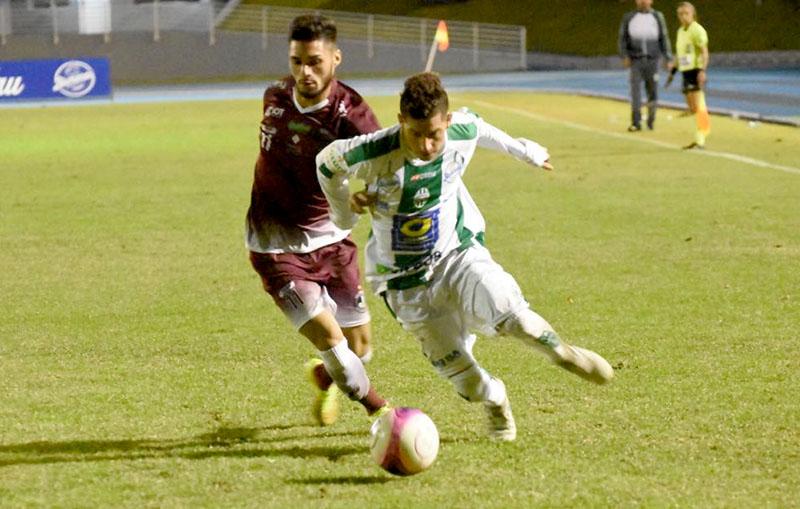 Tricolor saiu de Blumenau com a segunda vitória consecutiva no Estadual I Foto: Lucas Pavin/Agência Avante!