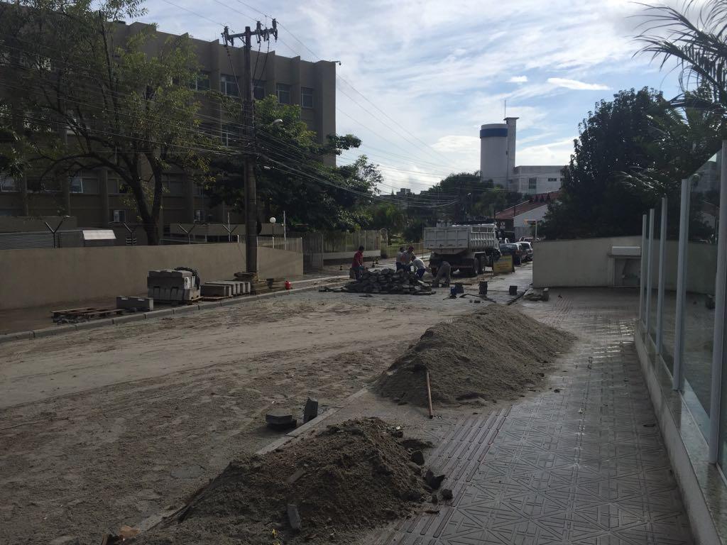 Ruas da Capital têm obras para recuperação da pavimentação Fotos Divulgação/PMF