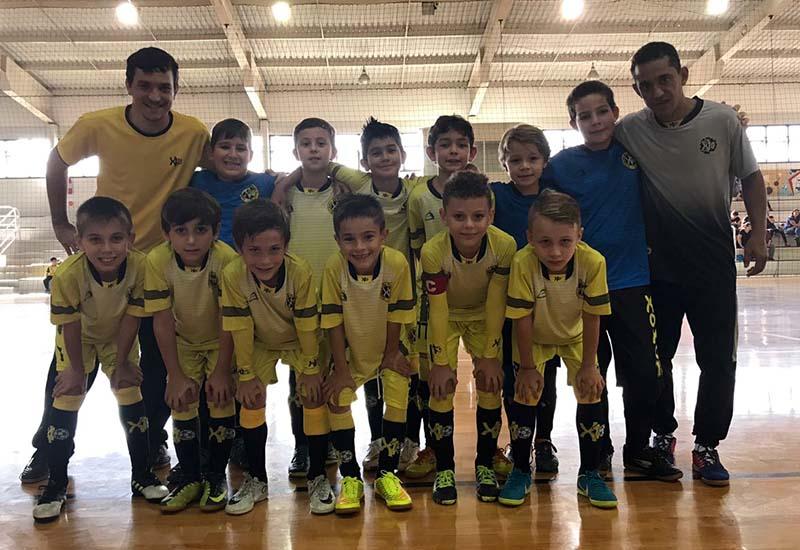 Time Sub-9 estreou com vitórias no Regional de Futsal I Foto: Divulgação