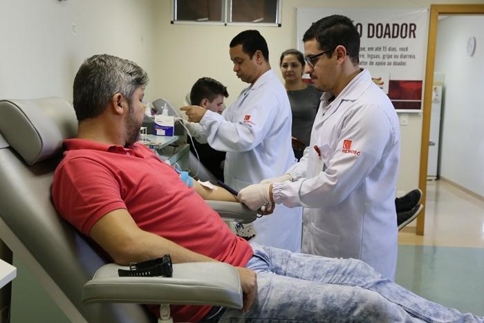 Nesta quinta-feira (14), é comemorado o Dia Mundial do Doador de Sangue | Foto Eduardo Montecino/OCP News
