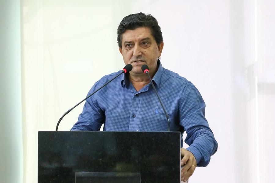 Vereador Celestino Klinkoski (PP) criticou postura do STF em aprovar próprio reajuste salarial em 16,39%, enquanto trabalhador brasileiro recebeu 2%   Foto Eduardo Montecino/OCP News