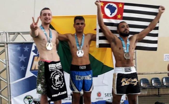 Leandro da Veiga (E) conquistou o título em Maringá (PR) I Foto: Divulgação