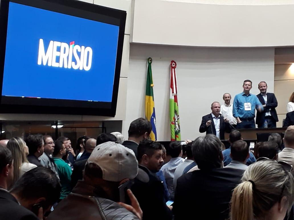 Gelson Merisio foi confirmado como candidato ao governo pelo PSD   Foto Divulgação/PSD
