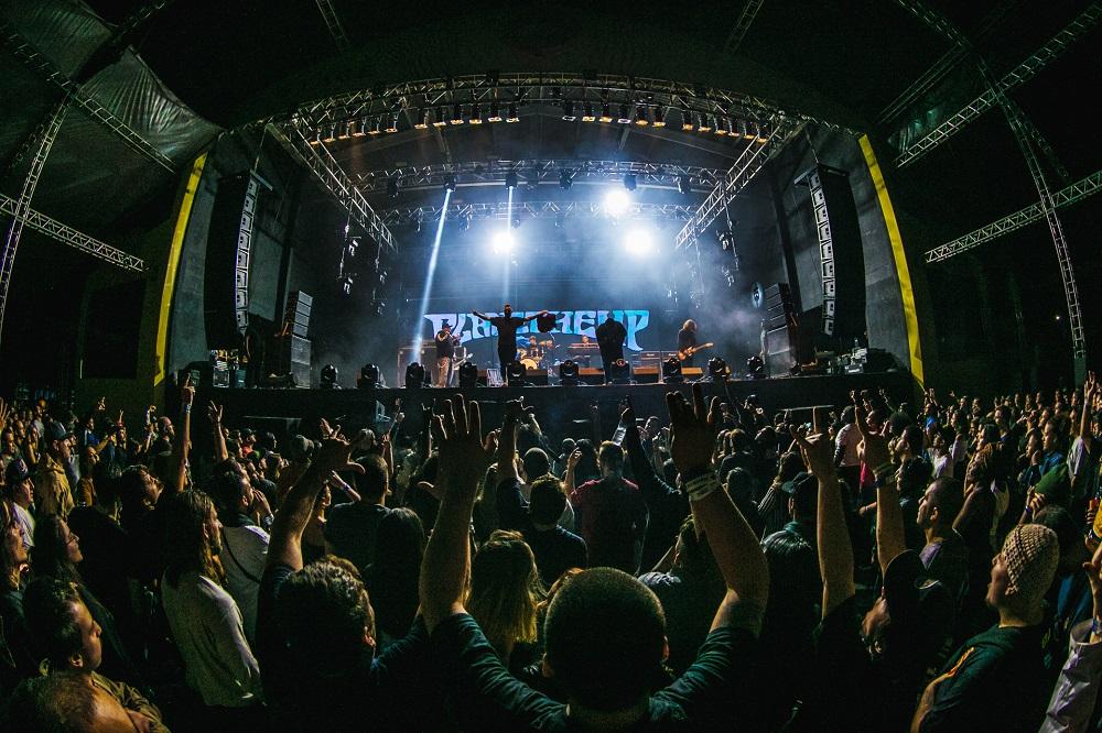 Público grande no show do Planet Hemp | Foto Caio Graça | Grupo All.