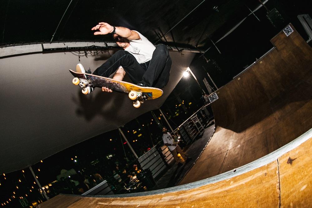 Pista de skate montada na pista do Terraza | Foto Caio Graça | Grupo All.