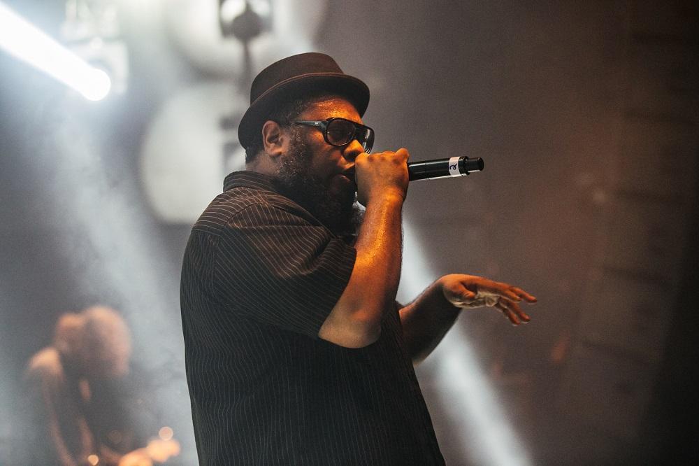 BNegão também vocalista do Planet Hemp | Foto Caio Graça | Grupo All.