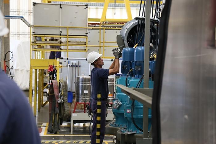 A WEG é a empresa que mais exporta em Jaraguá do Sul | Foto Eduardo Montecino/OCP News