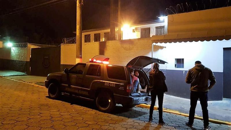 Agentes ficaram em uma área externa do presídio durante cerca de seis horas | Foto: Divulgação