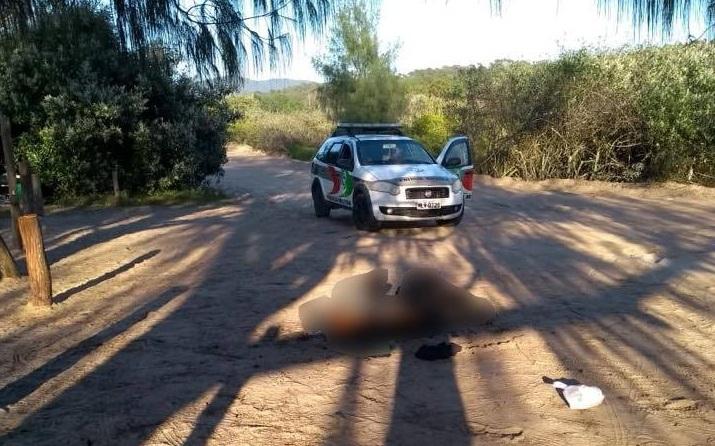 Homem morto foi localizado no início desta manhã | Foto Divulgação/Redes Sociais