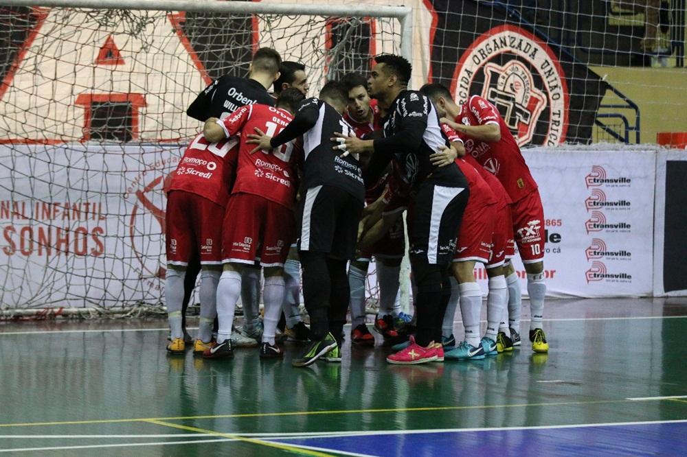 Goleada deixa Tricolor a um passo das semifinais | Foto: Arquivo/Juliano Schmidt/JEC/Krona