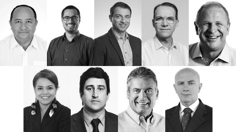 Nove candidatos querem ser governador de Santa Catarina   Foto Divulgação