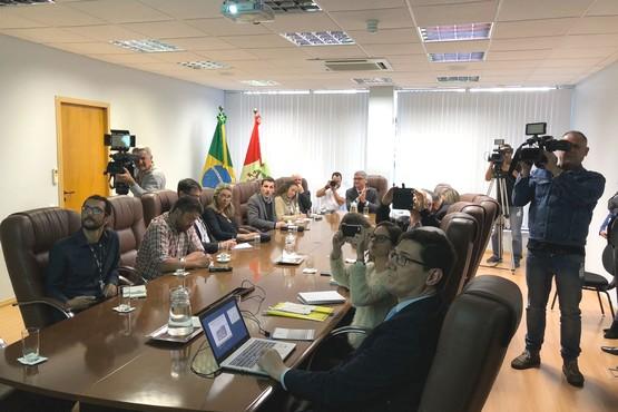 As estatísticas foram anunciadas pelo presidente do Tribunal de Justiça, desembargador Rodrigo Collaço nesta quinta-feira (09) | Foto Divulgação/TJSC