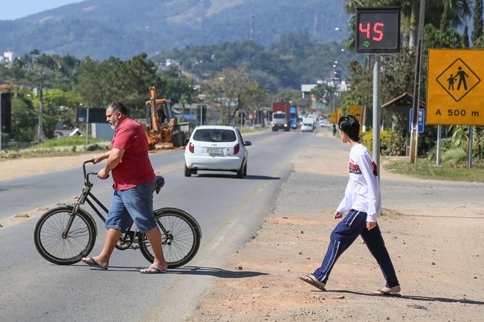 Cortado pela rodovia BR-280, o Água Verde é privilegiado quando o assunto é localização | Foto Eduardo Montecino/OCP News