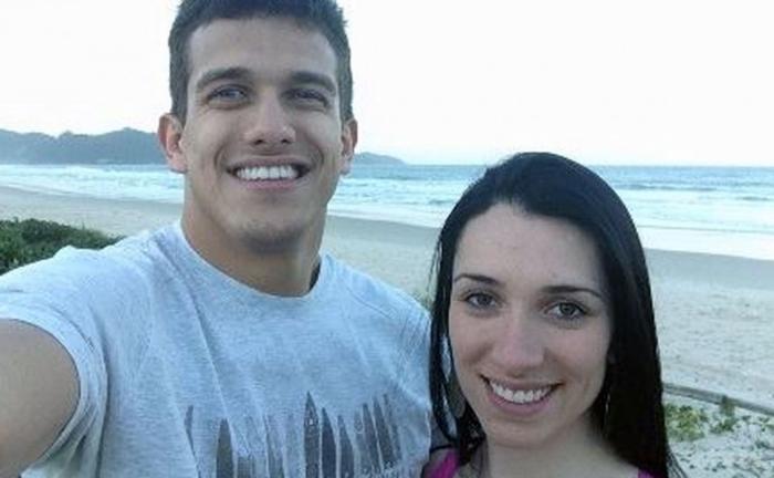 Manvailer é acusado de matar a companheira, Tatiane, que teria sido espancada por ele | Foto Reprodução/Redes Sociais