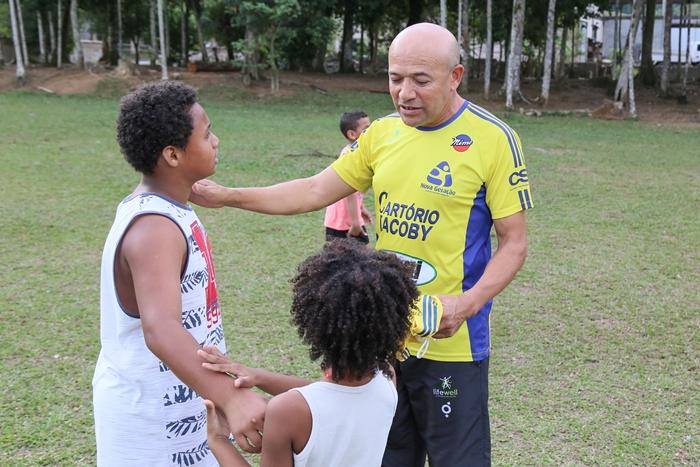 Crianças são o principal foco da iniciativa | Foto Eduardo Montecino/OCP News