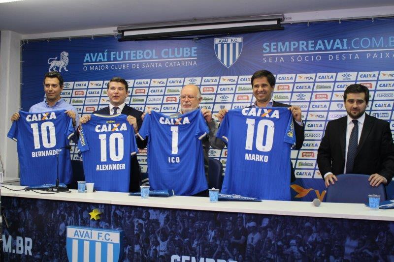 Lançamento da moeda própria do clube foi feito na Ressacada | Foto Alceu Atherino/Divulgação