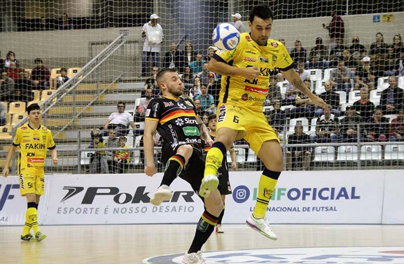 Federação Catarinense de Futsal divulga datas das quartas de final ... 50c133b6485ff