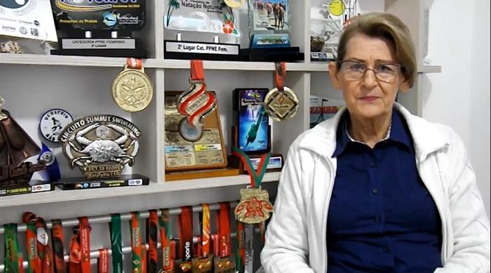 Maria Helena disputará o 14º Parajasc em outubro | Foto Reprodução