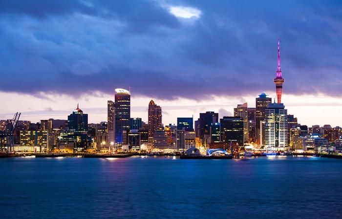 Auckland, na Nova Zelândia | Foto Divulgação