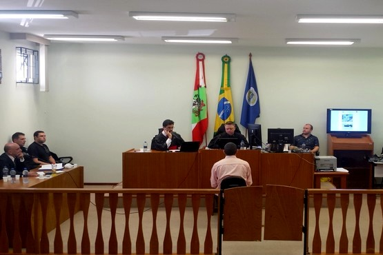 A decisão foi tomada pelo Conselho de Sentença, em sessão do Tribunal do Júri   Foto Divulgação/TJSC
