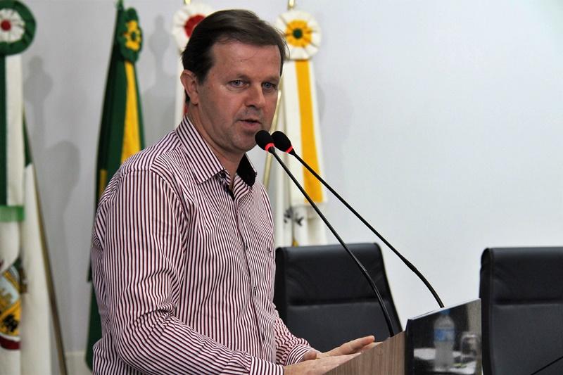 Anderson Kassner (PP) fica no cargo por dez dias, e Marcelindo Gruner (PTB) assume a presidência da Câmara | Foto Divulgação CMJS
