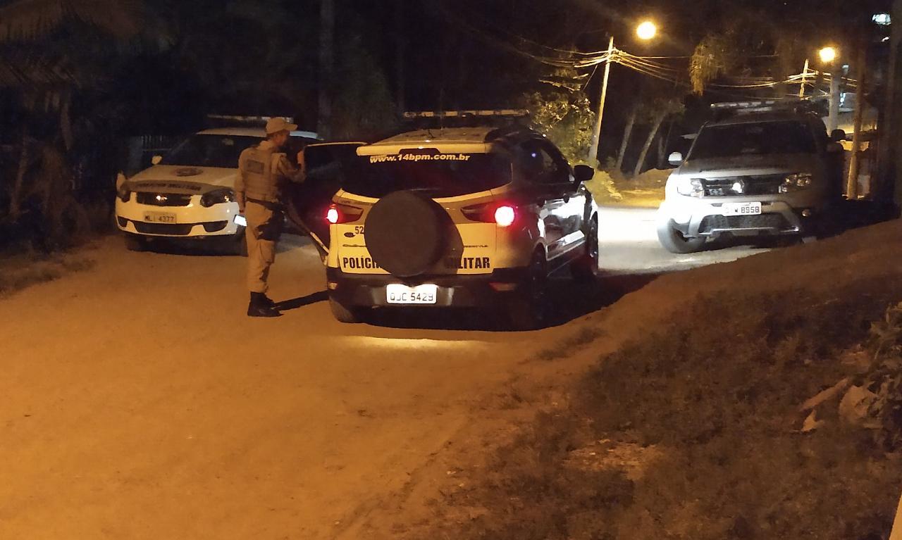 A prisão aconteceu na rua Esmeraldina Junkes Klein | Foto: OCP News