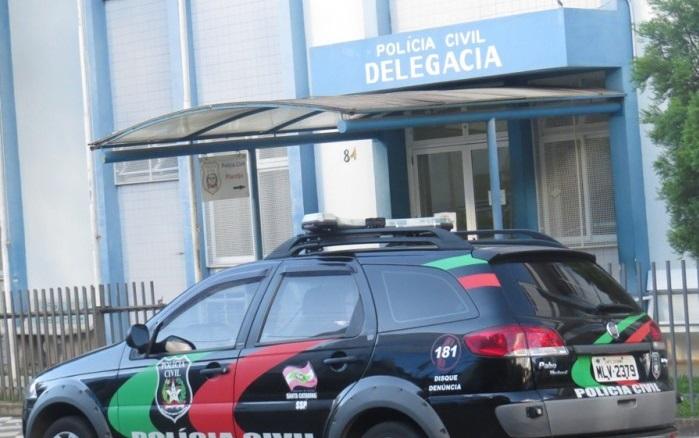Confusão foi registrada na Delegacia de Polícia de Joaçaba, na região oeste de Santa Catarina | Foto Divulgação
