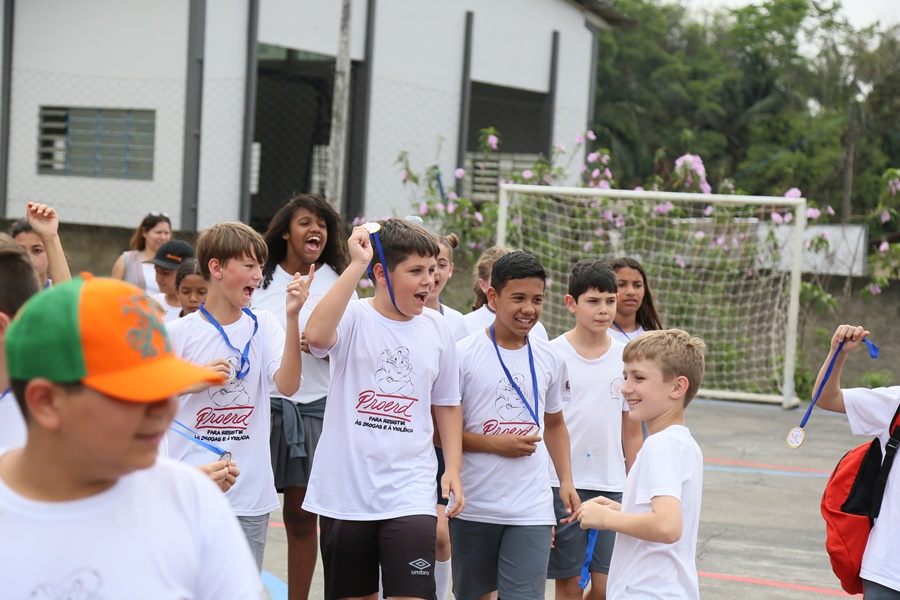 Olimpíada escolar ajudou na integração dos estudantes e envolvimento com o projeto | Foto Eduardo Montecino/OCP News