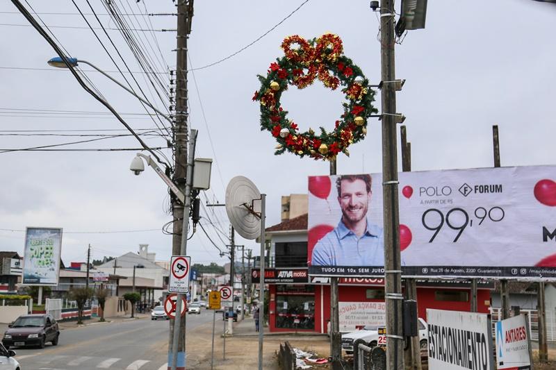 O projeto é desenvolvido desde setembro de 2017, com o Natal das Guirlandas e Páscoa das Guirlandas   Foto Eduardo Montecino / Arquivo OCP News