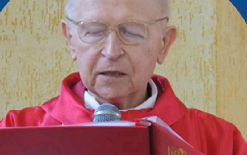 No dia 29 de junho de 2018, o padre comemorou 50 anos de ordenação sacerdotal | Foto  Divulgação