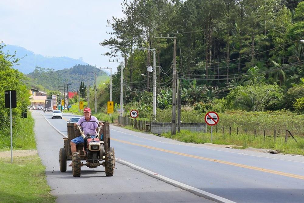 Bairro preserva tradição alemã e essência agricultora | Foto Eduardo Montecino/OCP News