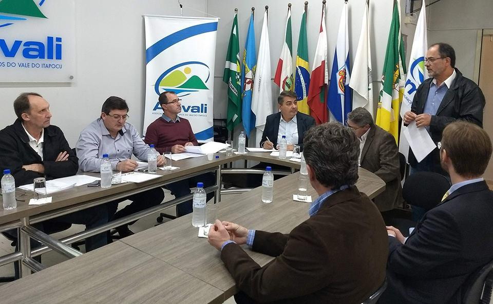 Registro de reunião entre a Avevi e Amvali | Foto Divulgação