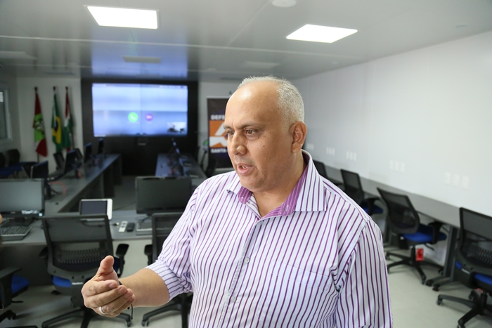 Osvaldo Gonçalves ajudou nas buscas por sobreviventes | Foto Eduardo Montecino/OCP News