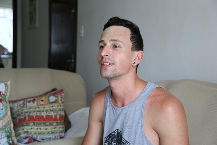 Gustavo hoje com 26 anos | Foto Eduardo Montecino/OCP News
