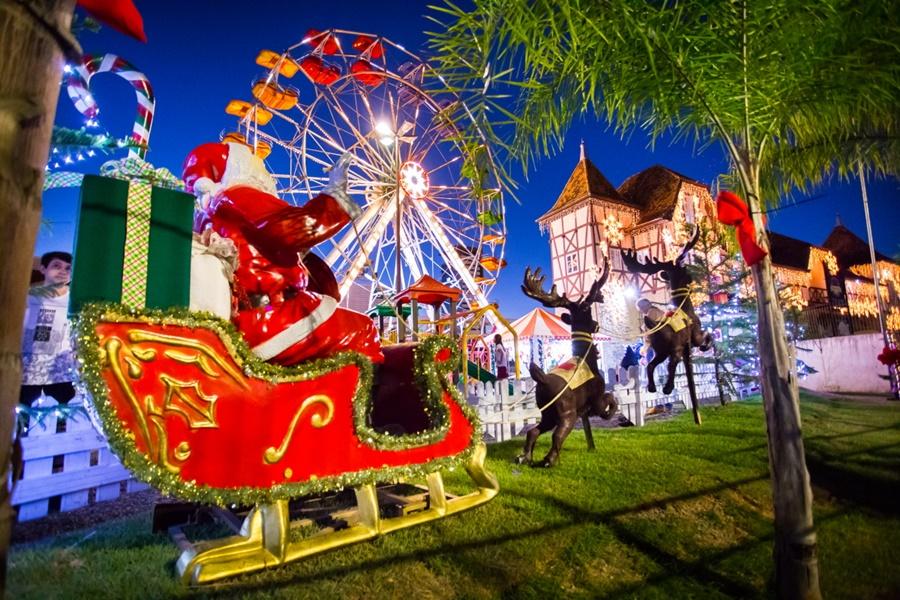 O clima natalino está no ar no cinquentenário, a Eletrosul | Foto: Divulgação