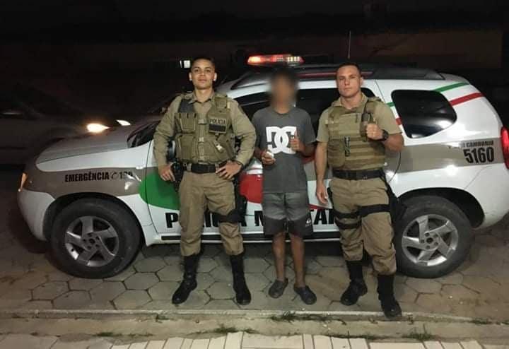 Adolescente teve R$ 50 roubados de dois adultos   Foto: 12º BPM/Divulgação