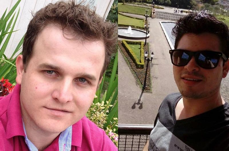 Acidente na BR-282: Douglas Scramin, 31 anos, e Jackson dos Santos, 24 anos, moradores do município de Águas Frias, morreram no local | Foto Divulgação