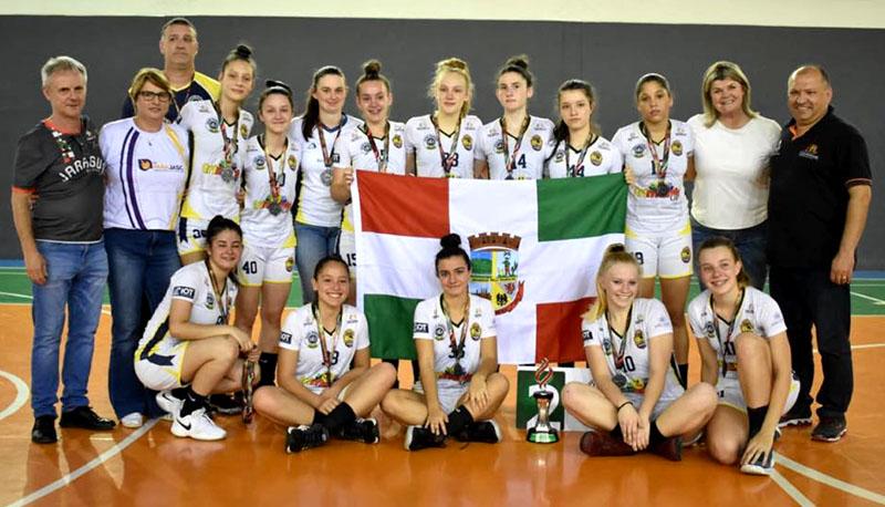 Basquete feminino chegou a 12º final de Olesc desde 2001   Foto Paulo Vitor Sauer/Secel