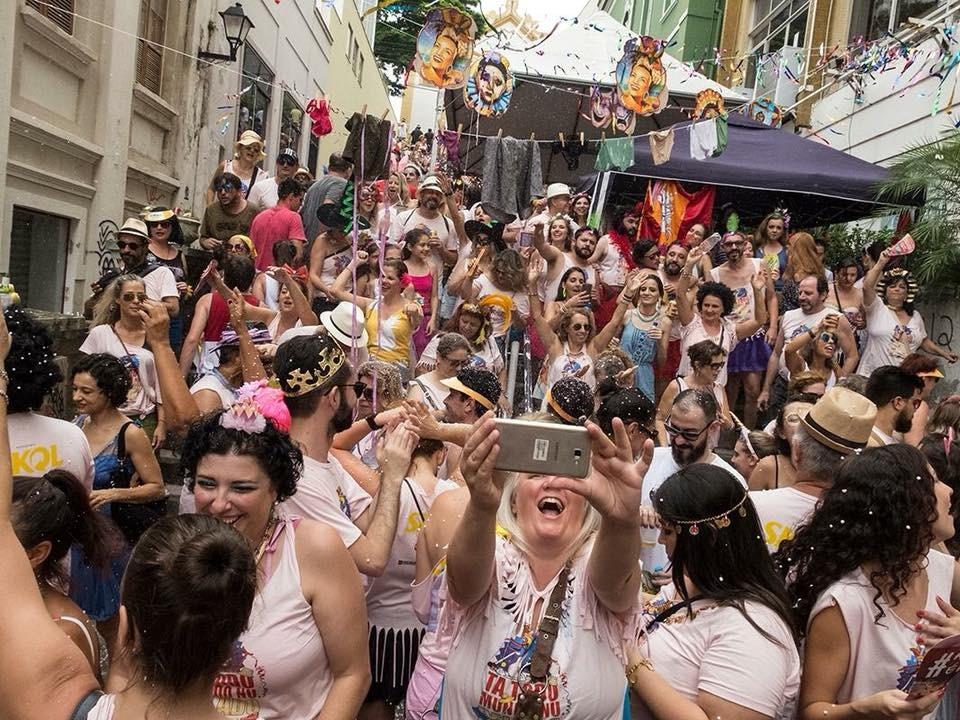 A festa ocorrerá no dia 2 de março, sábado, na Escadaria do Rosário | Foto Sérgio Vignes