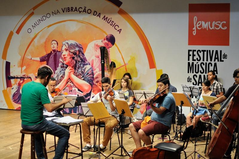 Maior festival-escola de música erudita da América Latina, Femusc acontece com recursos da Lei Rouanet | Foto Eduardo Montecino / OCP News
